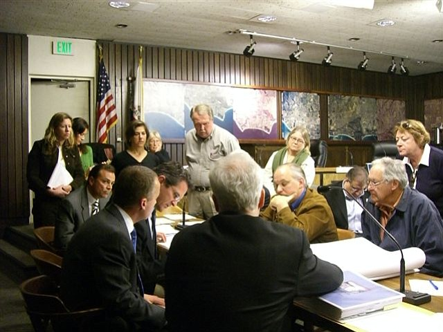 Caruso Affiliated meets with Montecito Board of Architectural Review in December 2007.