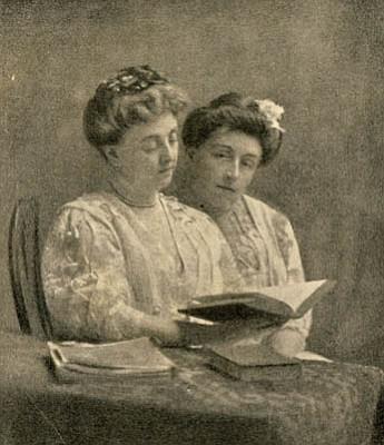 Kate Douglas Wiggin and Nora Archibald Smith.