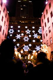One of New York's glittering decorations.
