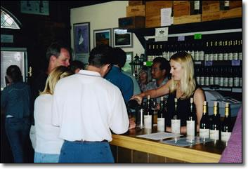 Blackjack Ranch tasting room