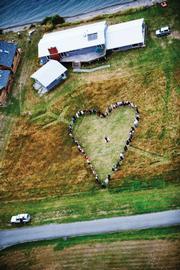 """Tad Wagner's """"Heart Photo."""""""