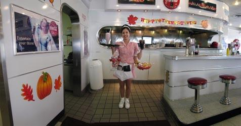 "Barbara Parmet's ""Krystal at Ruby's Diner"" (2007)."