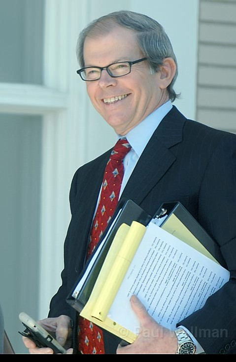 Nashville labor attorney Michael Zinser, a union-busting lawyer who represents papers in battles against newspapers around the country, is one of the main negotiators for the <em>Santa Barbara News-Press</em>.