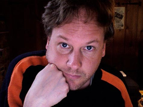 Jeff Gordinier, who got his start as a music writer for the <em>Santa Barbara News-Press</em>, took this self-portrait on his laptop a couple weeks ago.
