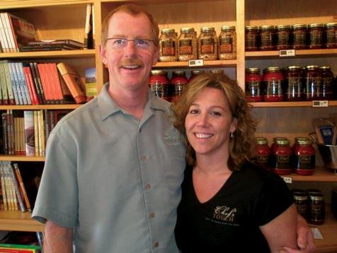 The Chef's Touch, run by Chef Kurt Alldredge and his wife JoEllen.