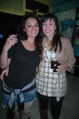 Patricia Mera and Salina Manson