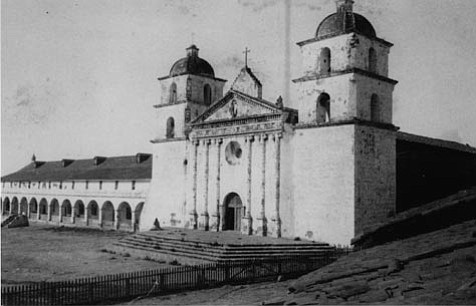 Part of the light opera <em>Natoma</em>, by Victor Herbert, was set at Mission Santa Barbara.