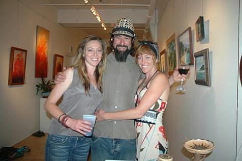 Brie Brazelton, Solar B Brian Chandler, and Annie Brazelton