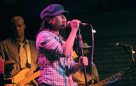 Lead singer Chhom Nimol wowed the crowd last Thursday night when L.A.'s Dengue Fever brought their eclectic tunes to SOhO.
