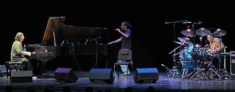 Chick Corea, Bobby McFerrin, and Jack DeJohnette combined free improvisation with old-fashioned showmanship at the Granada.