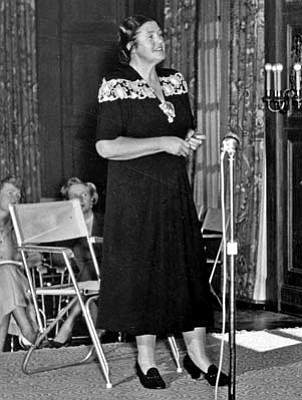 Soprano Lotte Lehmann left Eastern Europe in the late 1930s and eventually made it to Santa Barbara in 1940 after her husband died in New York.