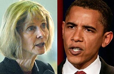 Lois Capps endorses Barack Obama.