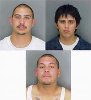 Clockwise from top left: Robert Joseph Martinez, Carlos Diaz, Emilio Mora