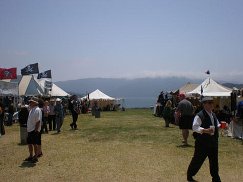 18th annual Renaissance and Pirate Faire.
