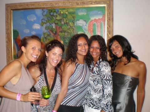 Britt Price, Kayla Johnson, Patricia Duran, LaurieKim Castro, and Mitsuko Conner Newlan