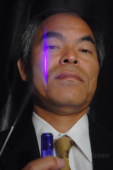 Alternative Light Source Pioneer Nakamura Lauded By