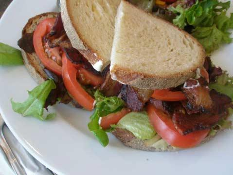 Bacon Lettuce Tomato from Cafe Quackenbush.