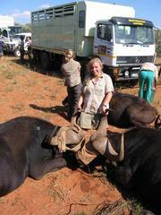 Capturing wild animals in South Africa was the senior project of Laguna Blanca's Melissa Schmitt.