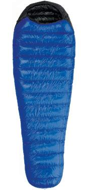 Western Mountaineering <em>Ultralight</em>. Light at 1 lb 13 ounces. Rating: 20 degrees. Cost: $360.