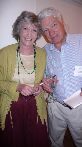 Barney with Sue Grafton