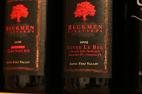 """2005 Beckmen Vineyards """"Cuvee Le Bec"""" Santa Ynez Valley."""