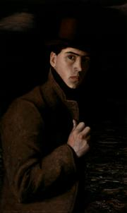 Clarence Hinkle, Self-Portrait with Bowler Hat, ca. 1900-1901. Oil on canvas.