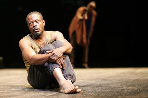 <em>Eye of the Cyclone</em> is Luis Marques two-person play about a 26-year-old man from Ivory Coast dealing with post-traumatic stress disorder and political upheaval.