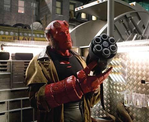 Folktale magic meets comic bad-assery in Guillermo del Toro's <em>Hellboy II: The Golden Army</em>.