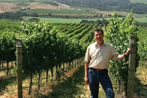 Rick Longoria, from Fe Ciega Vineyard.