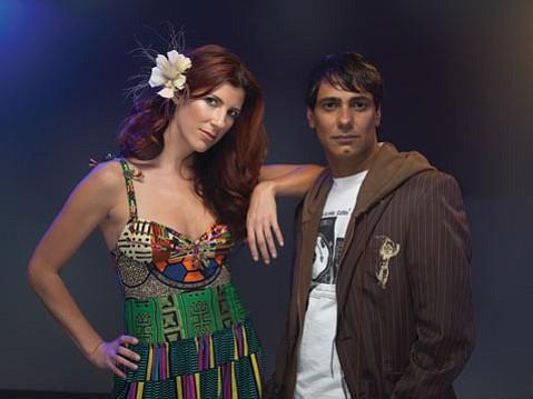 Los Angeles trip-hop duo Bitter:Sweet are Kiran Shahani (right) and Shana Halligan (left).