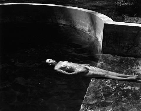 """Edward Weston's """"Nude Floating, 1939."""""""
