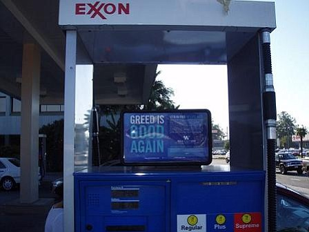 Exxon station at the corner of Hollister and Kinman avenues in Old Town Goleta.