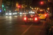 Cabs line both sides of the 400 block of State St. vying for 1 a.m. fares