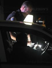 SBPD Officer Eccles sites a cab driver