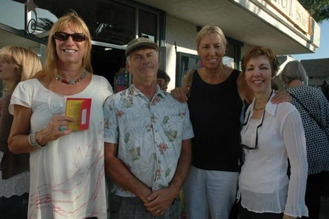 Cynthia Birch, Tom Towle, Linda Shower, and Marie Tripi