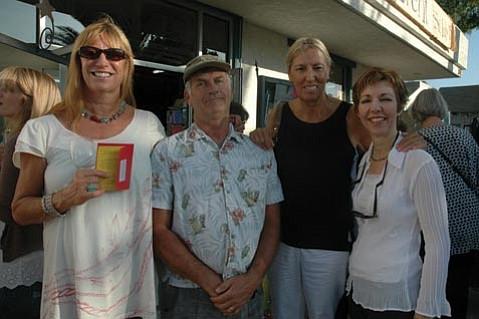 Cynthia Birch, Tom Towle, Linda Shower, and Marie Tripi