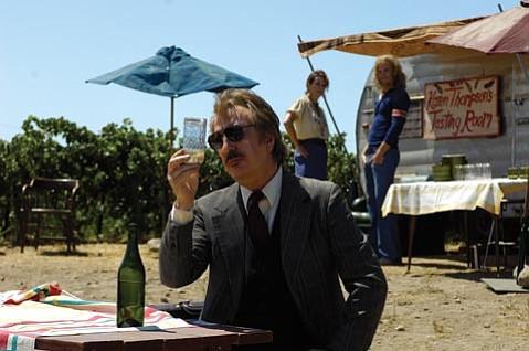 Alan Rickman in Bottle Shock.