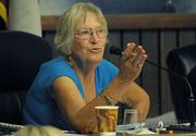 Montecito Planning Commissioner Claire Gottsdanker was critical of the size, bulk and scale of the Miramar project Wednesday.