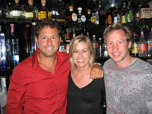 Left to right: Scotch Bonnet owners Steve Karan, Amy Scott, and Marc Jones.
