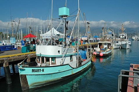 Santa Barbara's commercial fishing industry has been hit very hard this summer with the price of diesel fuel rising from $3 to $4.50 a gallon in just in the last year.