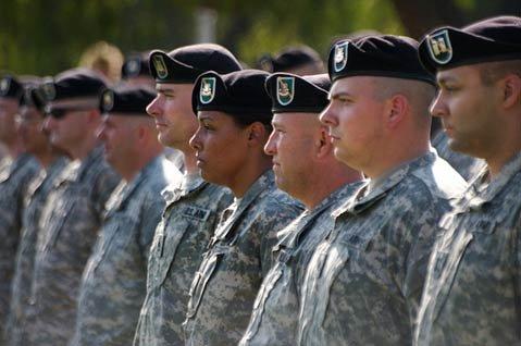 Santa Barbara's Soldiers Leave for Iraq