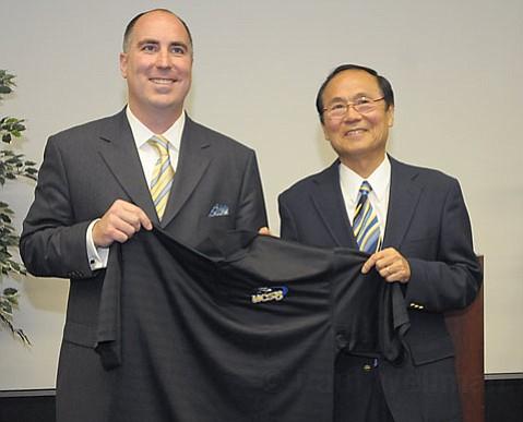 Mark Massari and Henry Yang