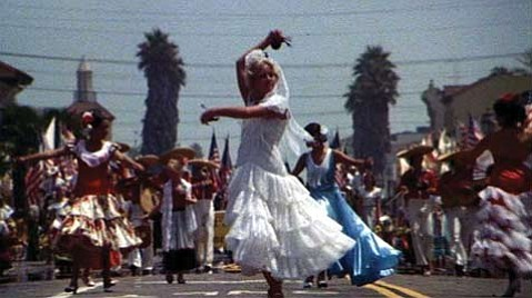Santa Barbara's Old Spanish Days played a prominent role in Cutter's Way, screening at the S.B. Courthouse next Wednesday.