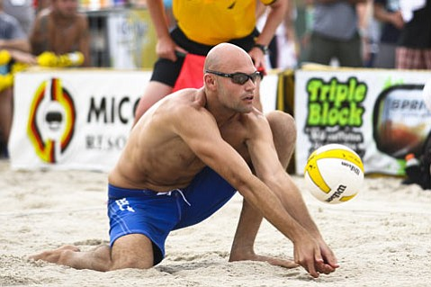 Olympic gold-medalist Phil Dalhausser.