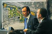 Rick Caruso describes changes to the Miramar plans