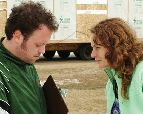 <em>Frozen River</em> is Courtney Hunt's emotional film about an impoverished mother of two named Ray (Melissa Leo).
