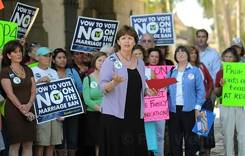 "Cheryl Rollings, CEO of Planned Parenthood of Santa Barbara, Ventura, San Luis Obispo Counties, called Proposition 4 ""cruel."" ""No law can mandate family communication,"" she said."