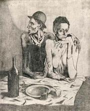 Pablo Picasso, <em>The Frugal Repast</em>, 1904-1913.