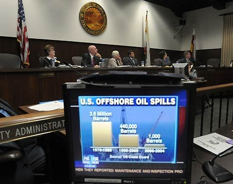 To lease or not to lease: The Santa Barbara City Council entered the national debate on offshore oil drilling this week, voting, for what it's worth, to maintain the status quo: no new leases.