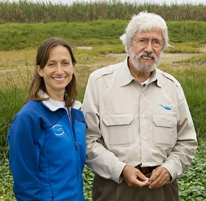 Ocean explorer Jean-Michel and Celine Cousteau will speak Monday night at UCSB's Campbell Hall.